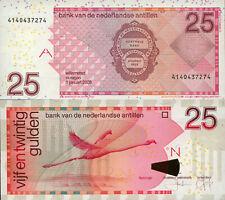 Netherlands Antilles 25 Gulden (1.12.2003) - Flamingo/p29c UNC