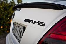 Mercedes Benz Black AMG BADGE Emblem Boot Rear C CL CLK SLK S SL E G CLASS NEW