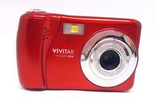 Vivitar ViviCam XX14 20MP HD Digital Camera 4X Digital Zoom - Red™