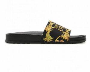 Versace Jeans Couture 71626 Nylon Print Slider Black