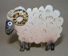 Millhouse Pottery Irish Ram Sheep Wall Plaque