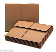 "Smead - Expanding Width File Folder Wallet Letter Size 5 1/4"""