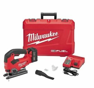 Milwaukee 2737-21 M18 FUEL 18V Cordless Brushless Jig Saw Kit with 5.0ah Battery