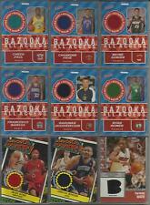 2005-06 Topps Bazooka Game/Event Worn Used Jersey 13 Cards - Chris Paul & More!!