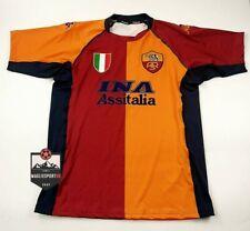 Maglia Totti AS Roma  2001-2002 - Batistuta De Rossi Calcio Vintage Retro