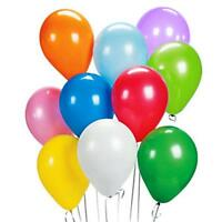 PACKS OF 50 AND 100 ASSORTED LATEX BALLOONS - HELIUM  / AIR - PARTY BALLOONS