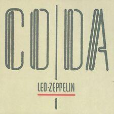 LED ZEPPELIN Coda 180gm Vinyl LP 2015 (8 Tracks) Remastered NEW  & SEALED