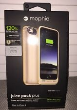 MOPHIE JUICE PACK PLUS GOLD For iPhone 6 & 6s 120% Extra Battery Authentic