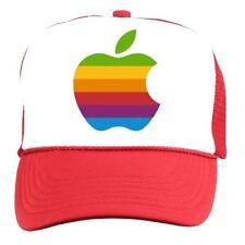 APPLE MAC Retro 1980s Old School Trucker CAP HAT vintage rock Macintosh Iphone