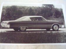 1967 CHRYSLER 300 HARDTOP  11 X 17  PHOTO   PICTURE