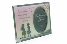 Friend Sentiment - Friends Are The Family We Meet Photo Frame Gift Fg516fr
