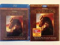 War Horse (Blu-ray/DVD, 2012, 4-Disc Set, Incl Digital Copy)w/slipcover (NEW)
