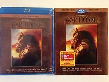 War Horse (Blu-ray/DVD, 2012, 4-Disc Set, Incl Digital Copy)w/slipcover
