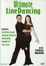 Ultimate Line Dancing With Teresa Mason (2005, DVD NIEUW)