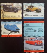 GRENADINES OF ST. VINCENT BEQUIA CARS 1984-85  5×