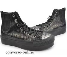 Womens CONVERSE All Star PLATFORM CHELSEE HI TOP LEATHER Trainers Boot SIZE UK 6