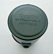 Tamron 80-200mm Adaptall 2 F 3.8-4 CF Tele Obiettivo macro in custodia originale