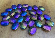 Wholesale Lot Of 331 Grams 30 Titanium Aura Jewel Gemstone Crystal Pieces