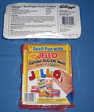 Lot 2 New Jello Gigglers Alphabet Letters Cookie Cutters & Rice Crispy Treats!