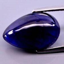 Gioielli e gemme di zaffiro naturale blu naturali goccia