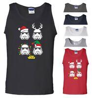 Star Wars Christmas Vest Stormtrooper Santa Elf Reindeer Xmas Gift Men Tank Top