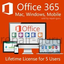 Microsoft Office 365 For Windows & Mac - IMMEDIATE DELIVERY!