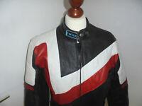 vintage VARTEX Motorradjacke Bikerjacke sweden oldschool motorcycle jacket 46