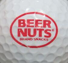 (1) Beer Nuts Brand Snacks Logo Golf Ball