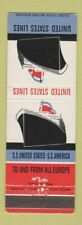 Matchbook Cover - United States Lines Cruise WEAR