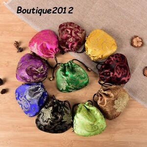 Chinese Silk Coin , Jewellery, Small Nik Nak Purse Available In Various Colours