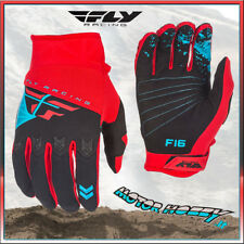 GUANTI OFF ROAD CROSS ENDURO MTB QUAD FLY F-16 ROSSO NERO  TAGLIA XS