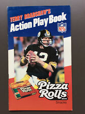 TERRY BRADSHAW'S Action Play Book Pizza Rolls NFL Pittsburgh Steelers Excellent+