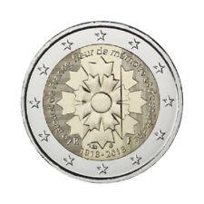 """France 2 Euro commemorative coin 2018 """"Cornflower"""" - UNC **NEW**"""
