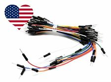 65pcs set jumper wire/cable male 2 male colored for Arduino - ship from USA