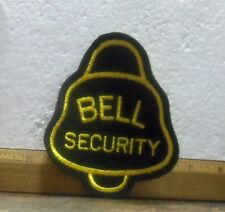 Bell Security Embroidered Patch (NOS)