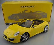 Porsche 911 Carrera S Cabriolet  Limitiert auf 750 Stück  Minichmps 1:18 OVP NEU