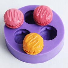 Macaron Silicone Fondant Cake Chocolate Candy Decoration Tools Baking Mold