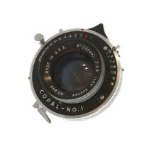 "Vintage Ilex Acuton 6"" (150mm) f/4.8 in Copal No.1 Shutter - UG"