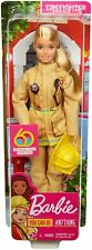Barbie® FIREFIGHTER DOLL (Blonde) Wearing Firefighter Uniform and Hat