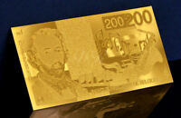 """★★ BELGIQUE : BILLET POLYMER  """" OR """" DU 200 FRANCS ★"""
