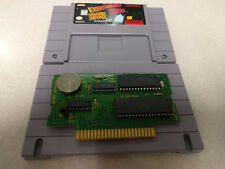 SNES Exertainment Mountain Bike Rally Speed Racer SUPER NINTENDO RARE