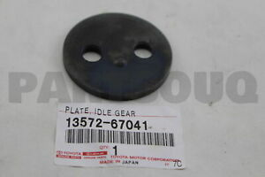 1357267041 Genuine Toyota PLATE, IDLE GEAR THRUST 13572-67041