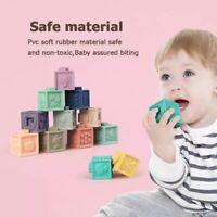 12pcs set Baby Grasp Toy Building Blocks 3D Touch Hand Soft Balls