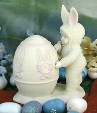 Department 56 ~ On Sale ~ Snowbunnies Cir. 1996-1998 I'Ll Color The Easter Egg