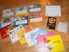 CLUB NINTENDO REWARDS 2014 Calendar ELITE LOT: Zelda HD, Mario, Metroid, Pokemon