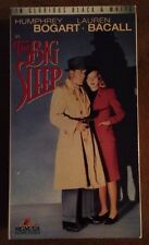 The Big Sleep (Pv Vhs) Humphrey Bogart Lauren Bacall Classic