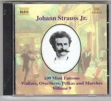 (EV132) Johann Strauss Jr, 100 Most Famous Vol 9 - 1999 CD