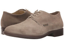 Mephisto Men's Cooper US 11 M Light Grey Suede Plain Toe Oxfords Shoes $289.00