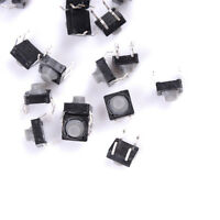 20X 8x8x5MM 4PIN Tactile Push Buttons Micro Switch Direct Self Reset Soundless;