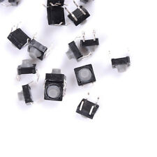 20X 8x8x5MM 4PINS Tactile Push Buttons Micro Switch Direct Self Reset Soundless